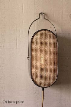 Rustic Wall Lighting, Wall Sconce Lighting, Metal Ceiling, Metal Walls, Rattan, Modern Wall Sconces, Recycled Wood, Recycled Materials, Rustic Walls
