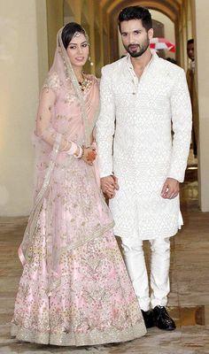 Shahid Kapoor & Mira Rajpoot Wedding Pictures (2)