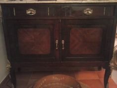 Mueble de caoba restaurado en nuestro taller espero os guste