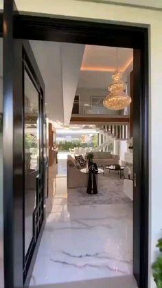 Modern House Facades, Modern Exterior House Designs, Modern House Design, Home Room Design, Home Design Decor, Dream Home Design, Design Ideas, Bungalow House Design, House Front Design