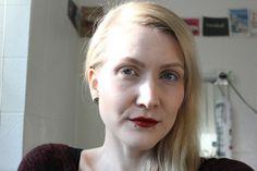 No Makeup Look #nomakeupmakeup #nomakeuplook #boldlipsnomakeup #nudeeyes #blondegirl #germanbeautyblogger bambidoes.de