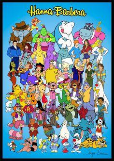 70s cartoons | Tribute Hanna Barbera 70s+ 80s by ~slappy427 on deviantART