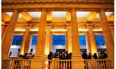 Stunning ceilings, chandeliers & beaux arts style of Asian Art Museum makes it an elegant & timeless venue; http://www.idovenues.com/wedding-venues/asian-art-museum-a-san-francisco-classic/