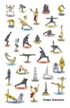 The Star Wars Guide to Yoga at http://bookretreats.com/blog/darth-vader-does-yoga-27-star-wars-yoga-poses/