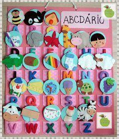 abecedário feltro jogo - Pesquisa Google