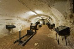 Italy, Lombardy, Soncino, Sforza castle, torture chamber