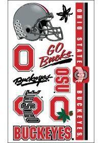 Caseys Distributing 3208513887 Ohio State Buckeyes Temporary Tattoos by caseys-distributing. $3.95. Ohio State Buckeyes Temporary Tattoos. What a fun way to show your team spirit! Each package includes one sheet of 10 tattoos. The tattoos are completely safe, non-toxic, hypo-allergenic, and all ingredients are FDA regulated . They last for days and can be easily removed with household rubbing alcohol or baby oil. Made by WinCraft.