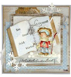 don en daisy ski en creatable open book