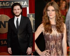 Kit Harington, Rose Leslie Dating? 'Game of Thrones' Co-Stars Continue Spurring Rumors With PDA Filled Public Outing? [VIDEO]