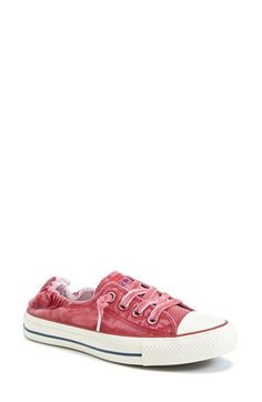Converse Chuck Taylor® 'Shoreline - White Wash' Sneaker in Berry Pink (Women) | Nordstrom