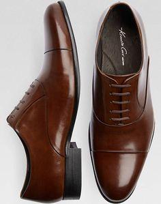 Dress shoes men, Cognac dress shoes