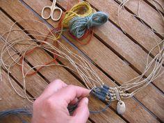 weaving in my veranda...