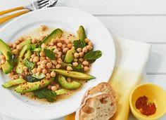 Kichererbsen-Avocado-Salat - [ESSEN UND TRINKEN]
