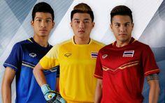 Thailand 2015 SEA Games Home and Away Kits