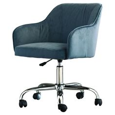 You'll love the Candace Velvet Office Chair at Joss & Main - With Great Deals on all products and Free Shipping on most stuff, even the big stuff.