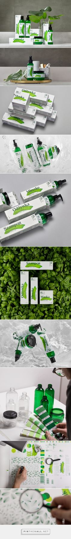 Element Cosmetics - Packaging of the World - Creative Package Design Gallery - http://www.packagingoftheworld.com/2017/06/element-cosmetics.html