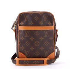 Louis Vuitton Brown Monogram Canvas Danube Crossbody Mini Messenger Bag