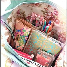 When I was going to school (like high school) that's how neatly organized my backpack looked inside...