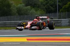 Kimi Raikkonen, Ferrari, Red Bull Ring, Saturday Q1, 2014