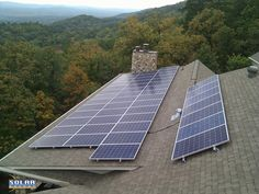 This rooftop photovoltaic (PV) solar array features 48 250 watt solar panels overlooking the beautiful foothills of the Appalachian Mountains in Rome, Georgia. The solar array will help the homeowners offset over 21,000 lbs of CO2 in it's first year and over 534 tons of CO2 over 35 years. Thanks to spray foam insulation in the attic and crawl space these Rome, GA solar homeowners will come very close to eliminating their power bill and achieving 'net zero.'  Go to www.idealenergytrends.com