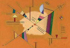 "Wassily Kandinsky - ""Diagonal"", 1930"
