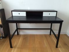 I'm selling my desk!    OFFI wenge & white lacquer window desk in Downtown Brooklyn, Brooklyn ~ Apartment Therapy Classifieds