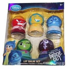 TSUM~Joy~Fear~Sadness~Anger~Disgust~Bing Bong~INSIDE OUT~Disney Store~Authentic