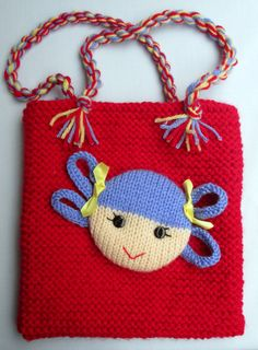 Jolly Dolly Bags knitting patterns INSTANT DOWNLOAD by dollytime