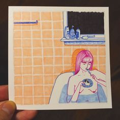 Artist Creates Honest Illustrations Showing What Women Do When No One Is Watching