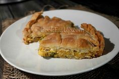 Cookie Dough Pie, Kai, Spanakopita, Greek Recipes, Hot Dog Buns, Finger Foods, Food And Drink, Bread, Baking