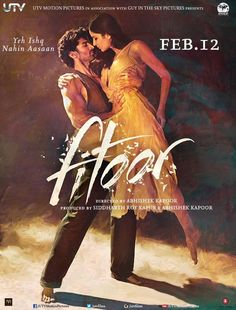 "Check out! The new poster of Aditya Roy Kapoor and Katrina Kaif's upcoming movie ""Fitoor"""