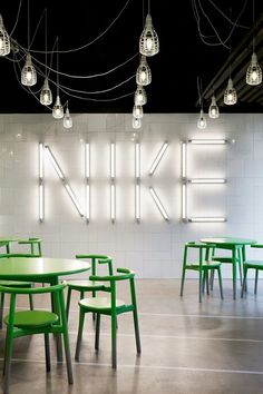 Nike EatMeet area by Workshop of Wonders. Hilversum, Netherlands