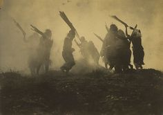 Edward S. Curtis, The Eclipse Dance, 1910-14 From the Getty Museum: Dance is an integral component of most cultures and very often serves as a form of religious, social, and artistic expression. The Pacific Northwest coast Kwakiutl tribe, shown here, were especially noted for their elaborate ceremonies, often involving dance.