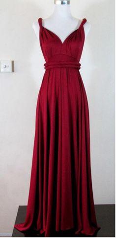 Pretty V-neck Simple Cheap Long High Low Charming Prom Dresses 8bf8bcc6cfb6