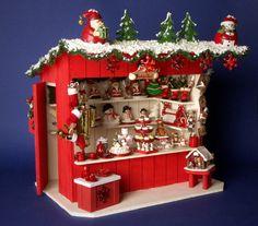 Mercadillos de Navidad en miniatura puesto Cafetería por DinkyWorld