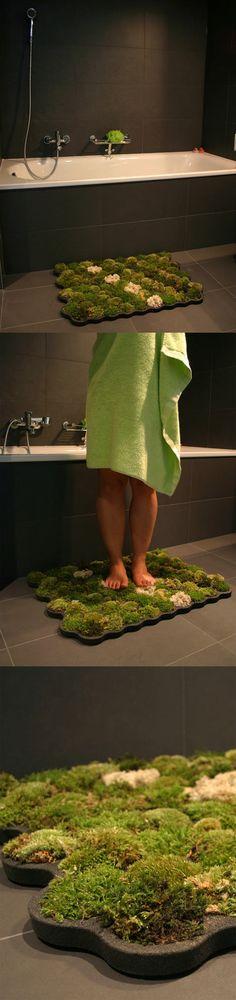 Living bath mats