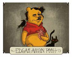 Edgar Allan Pooh by Alberto Montt