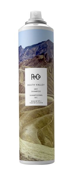 #RandCo DEATH VALLEY Dry Shampoo: Not your granny's dry shampoo. Death Valley is the quickest way to get volume and body into your hair. Good for: Easy, big, messy Bardot (or Bon Jovi) hair. #dryshampoo