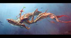Atlantis Herald by Alexey Kashpersky | 3D | CGSociety