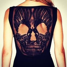 Fancy - Skull Dress by Premonition