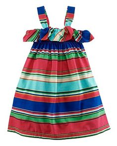 Pretty prep! Ralph Lauren Childrenswear Toddler Girls' Little Stripe Love this new style!