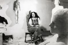 artistandstudio:  Feminist artist Kiki Smith, photo by Lina Bertucci