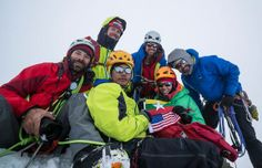 Mark Fisher, Teton Hd, Climber Poe Pin, Andy Tyson, Molly Loomis and Chris Nance. https://www.facebook.com/GamlangRazi