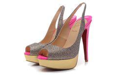 Sexy Christian Louboutin sandals beautiful shoes 140mm  http://pinterest.com/onlinesalestore