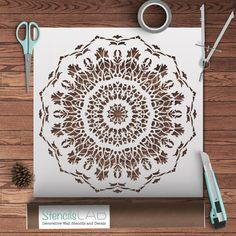 Our Mandala Style Stencils are exactly what you are looking for to decorate your home! Original and unique designs, strong materials, easy to use: these are the characteristics of our reusable stencil