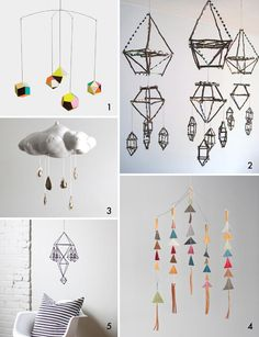 The BEST part of the nursery // Mobiles « Spearmint Baby