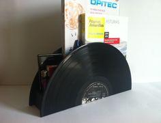 Retro vinyl record Organizer from Artivshop by DaWanda.com