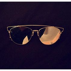 Dior inspired aviators Silver Lens Accessories Sunglasses