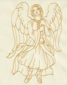 Redwork Angels 04