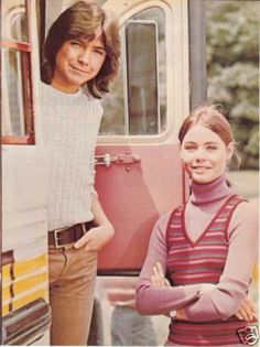 The Partridge Family - David Cassidy and Susan Dey